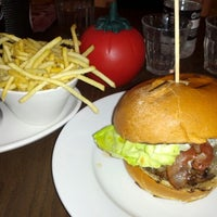 Photo taken at Gourmet Burger Kitchen by Jeff on 7/11/2012