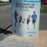 Photo taken at Decathlon by Gustavo B. on 9/1/2012