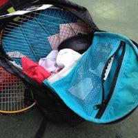 Photo taken at Phú Thọ tennis club by Tinu on 7/18/2012