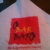 Photo taken at O Bar BarO by Nathália N. on 2/15/2012