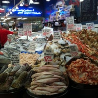 Photo taken at Pike Place Fish Market by Emile M. on 9/6/2012