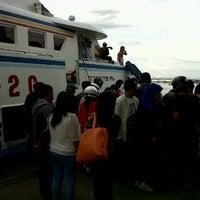 Photo taken at Pelabuhan Senghie by H Idris U. on 8/31/2012