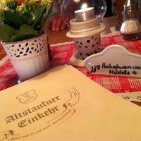 Photo taken at Altstaufner Einkehr by Konstantin Andreas F. on 6/14/2012
