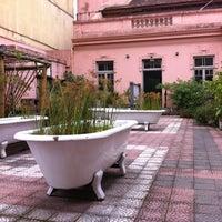 Photo taken at Casa de Cultura Mario Quintana by Carlos C. on 7/17/2012