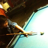 Photo taken at Shooters Pool Table™ by Alif M. on 2/15/2012