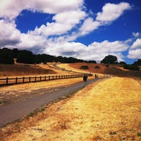 Photo taken at Stanford Dish Trail by Frederique D. on 6/24/2012