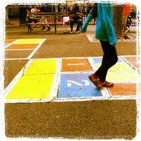 Photo taken at Augustus Saint-Gaudens Playground by Jeffrey Z. on 6/5/2012