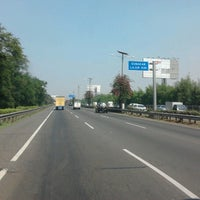 Photo taken at Jalan Tol Prof. DR. Ir. Sedyatmo by Amsah G. on 7/2/2012