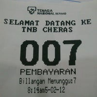 Photo taken at TNB-Cheras by Azfa n. on 5/2/2012