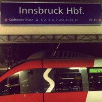 Das Foto wurde bei Innsbruck Hauptbahnhof von Nuno M. am 8/11/2012 aufgenommen