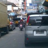 Photo taken at Jalan Palangkaraya by Tora S. on 4/28/2012