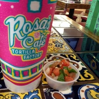 Photo taken at Rosa's Cafe Tortilla Factory by Nathan V. on 3/15/2012