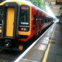 Photo taken at Brockenhurst Railway Station (BCU) by Jim K. on 6/7/2012