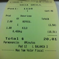 Photo taken at Gaia Grill by Nilson F. on 8/17/2012