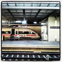 Photo taken at Bahnhof Berlin Südkreuz by Jenda Š. on 8/1/2012