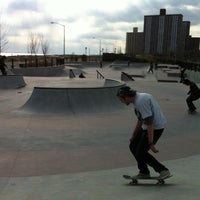 Photo taken at Far Rockaway Skatepark by Willy W. on 3/9/2012