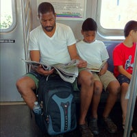 Photo taken at MTA Subway - M Train by J D. on 8/31/2012
