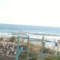 Photo taken at Lenox Beach Approach by Mary J. on 3/27/2012