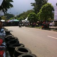 Photo taken at Lapangan Gasibu by Agung S. on 5/20/2012