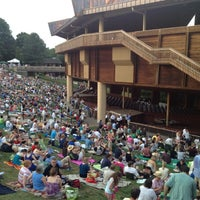 Photo taken at Wolf Trap National Park for the Performing Arts (Filene Center) by Tim V. on 7/7/2012