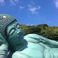 Photo taken at 南蔵院 by Etsuko S. on 8/15/2012