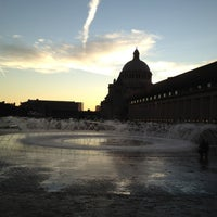 Photo taken at Christian Science Reflecting Pool by Harsha J. on 11/24/2011