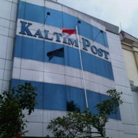 Photo taken at Kaltim Post Samarinda by Marvin D. on 10/3/2011
