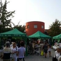 Photo taken at Mercato della Terra by Yoshiyuki T. on 9/10/2012