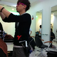 Photo taken at U Sense Hair Studio by Adrian M. on 2/9/2011