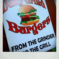 Photo taken at Daily Grind Burgers by Christie H. on 2/11/2012