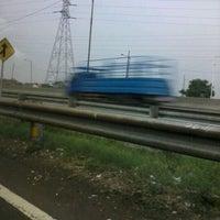 Photo taken at Tol Surabaya - Gresik by IdA L. on 11/19/2011