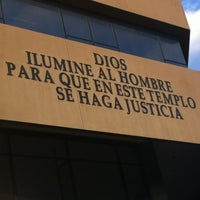 Photo taken at Palacio de Justicia by Ninoska D. on 4/17/2012