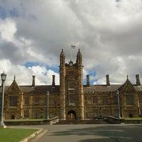 Photo taken at The University of Sydney (USYD) by Anastassia S. on 5/5/2012