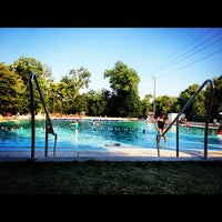 Photo taken at Deep Eddy Park by Dan M. on 6/22/2012