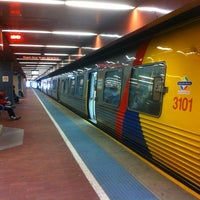 Photo taken at Adelaide Railway Station by Tim M. on 7/26/2012