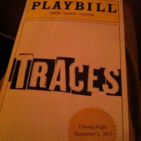 Photo taken at Traces at Union Square Theatre by Brian F. on 9/2/2012