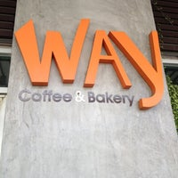 Photo taken at Way Coffee & Bakery by Phanutchy J. on 3/4/2012