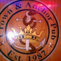 Photo taken at Crown & Anchor Pub by Louie G. on 8/18/2011