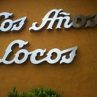 Photo taken at Los Años Locos by Ignacio P. on 1/22/2012