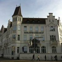 Photo taken at Hotel Bielefelder Hof by Nicole M. on 3/27/2012