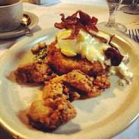 Photo taken at Atchafalaya Restaurant by Christina S. on 5/19/2012