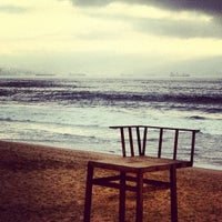 Photo taken at Sector 3 - Playa Reñaca by Gonzalo F. on 3/10/2012