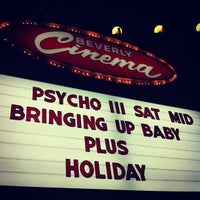 Photo taken at New Beverly Cinema by Luis M. on 1/29/2012