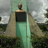 Photo taken at Busto de Rufo Figueroa by Shelo C. on 7/9/2012