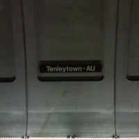 Photo taken at Tenleytown-AU Metro Station by John F. on 12/21/2011