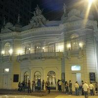 Photo taken at Teatro Carlos Gomes by Eduardo A. on 8/19/2012