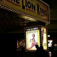 Photo taken at THE LION KING in Las Vegas by David M. on 12/4/2011