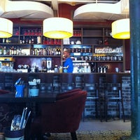 Photo taken at Greg Cafe by Andreina on 11/21/2011