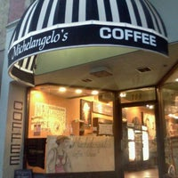 Photo taken at Michelangelo's Coffee House by Luis R. on 8/20/2011