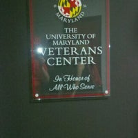 Photo taken at University Of Maryland Veterans Center by Andrew C. on 5/4/2011